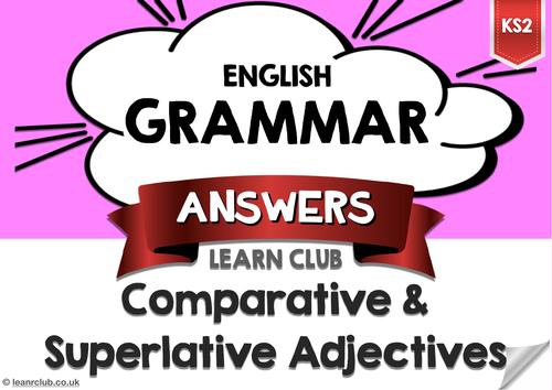 KS2 Comparative and Superlative Adjectives
