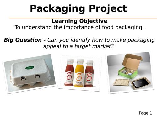 Packaging - considering target markets, legal information, symbols