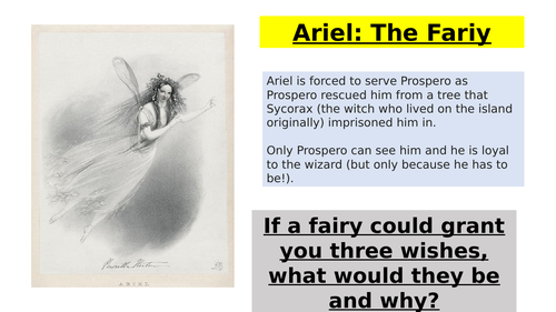 The Tempest: Act 1, Scene 2 Ariel and Prospero's Relationship