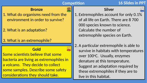 AQA Biology Ecology Differentiated