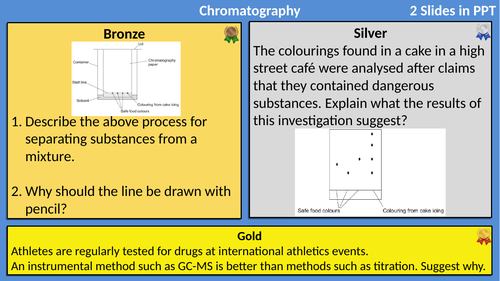 AQA Chemistry Analysis Differentiated
