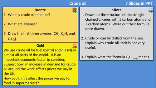 AQA Organic Chemistry Differentiated