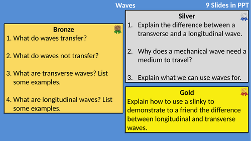 AQA Physics Waves Differentiated