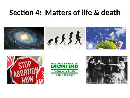 Origins and value of the universe (Edexcel B)