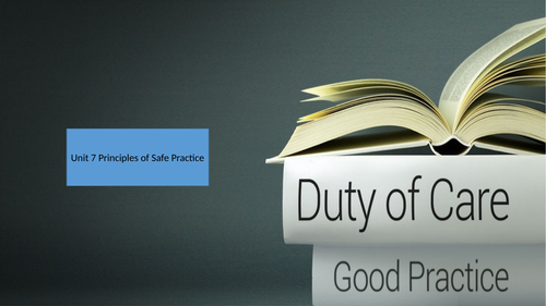 Evaluate a Duty of Care