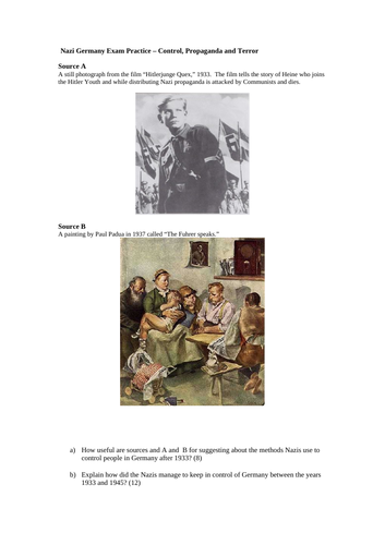 Nazi Germany Propaganda Source Q