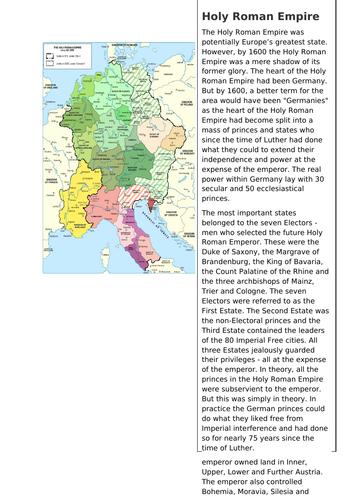 Germany in 1800