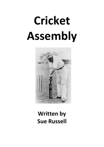 Cricket Assembly or Class Play