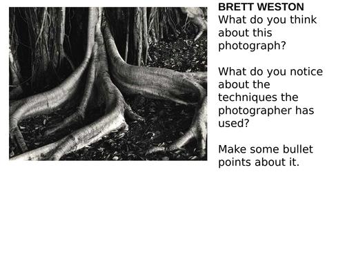 AQA GCSE Photography Resources / Starters / Activities