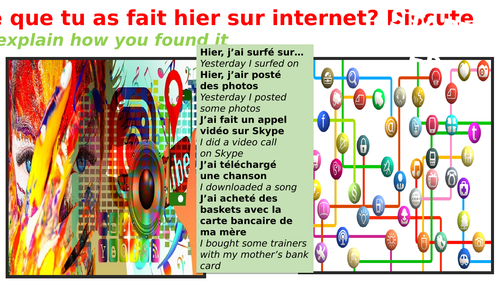 Starters to enhance your lesson in French  KS3 KS4