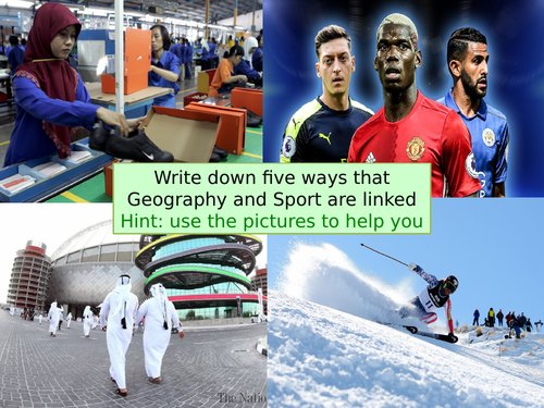 Sport and Geography KS3