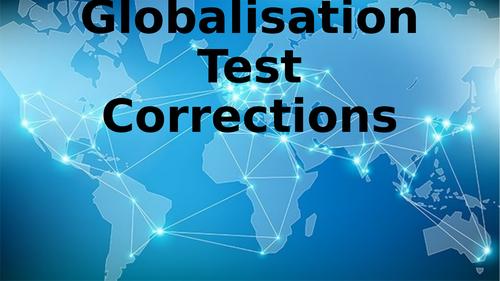 Globalisation Test