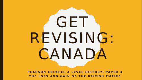 British Empire: Canada Revision