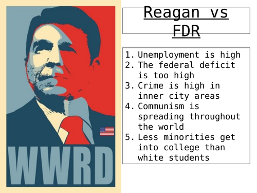 Lesson 4 - did Reagan's policies change US society for the better