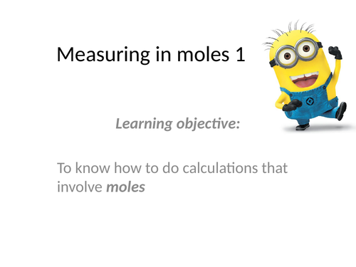 Practice mole calculations