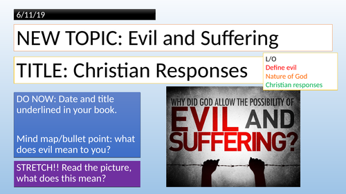 Christianity - Problem of Evil