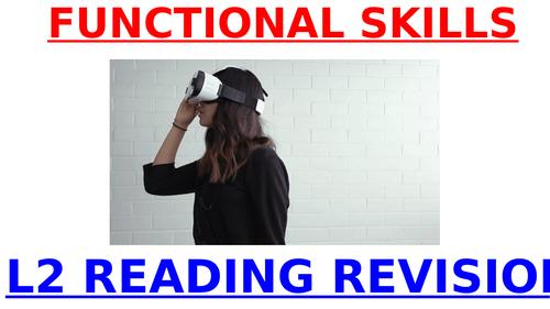 L2 READING EXAM REVISION 2019 - FUNCTIONAL SKILLS L2