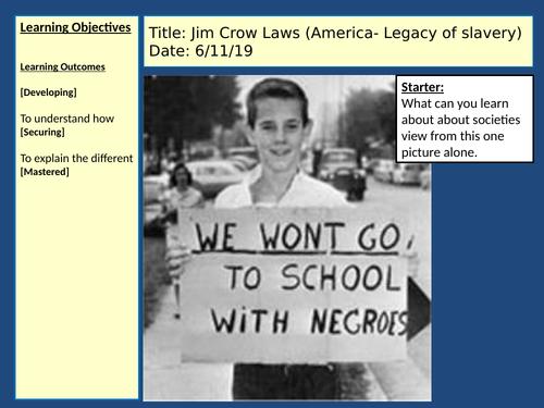 Civil Rights movements- Ks3- History