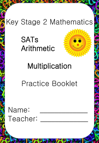 SATs Arithmetic Booklet Multiplication