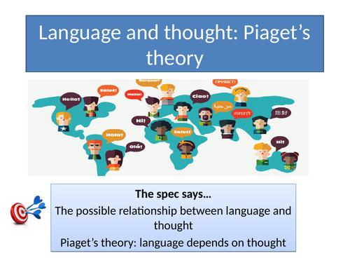 GCSE Psychology AQA New Spec 2017 Paper 2 - LANGUAGE, THOUGHT & COMMUNICATION - Topic Resources