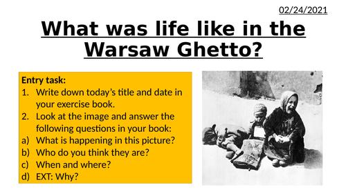 Holocaust - Warsaw Ghetto
