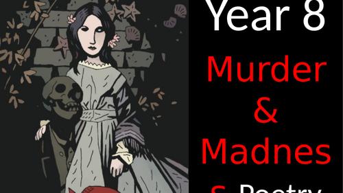 Victorian Murder Poetry Scheme of Work