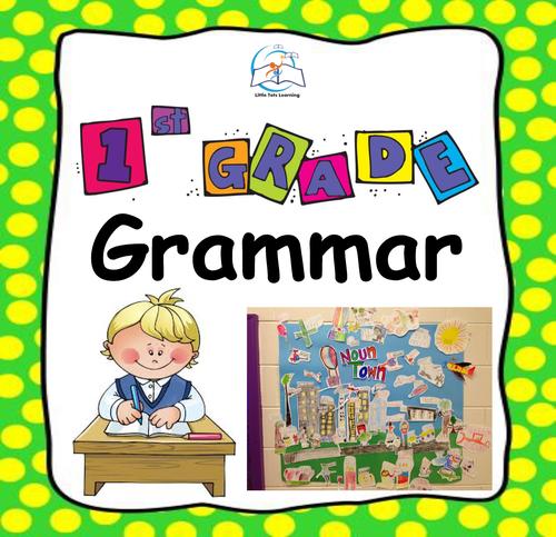 1st Grade Grammar | Common Core 1st Grade Grammar