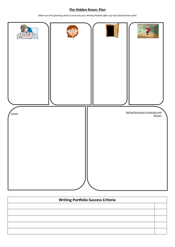KS2 Writing Assessment Stimulus (Differentiated Writing Portfolio)