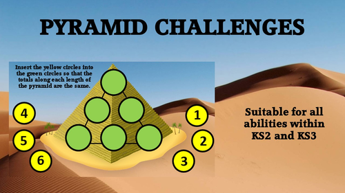 PYRAMID mastery maths challenges
