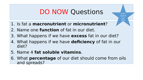 Fat processes and functions