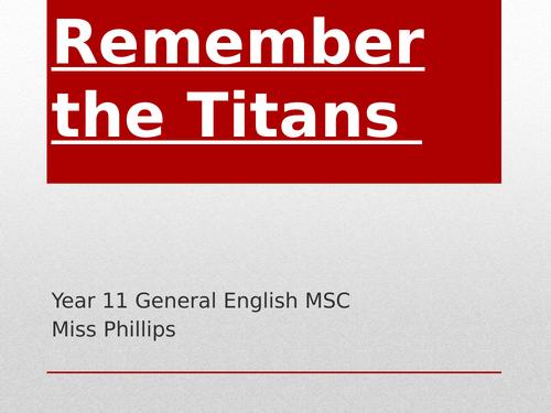 Film Study: Remember the Titans