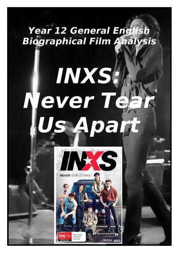 INXS Never Tear Us Apart Biopic Study