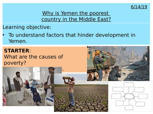 Middle East - Why is Yemen the poorest country in the Middle East?
