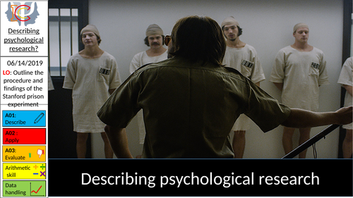 Describing a Psychological Study: The Stanford Prison Experiment