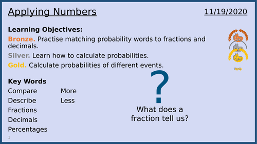 Applying Numbers - Lesson 2 of 13