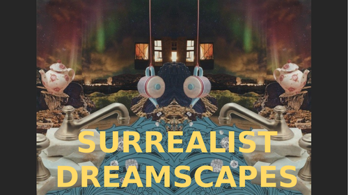 Surrealism Dreamscape collages