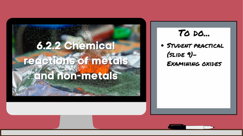 6.2.2 Chemical reactions of metals and non-metals (AQA KS3 Activate 1)