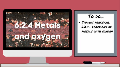 KS3 AQA Activate 6.2.4 Metals and oxygen