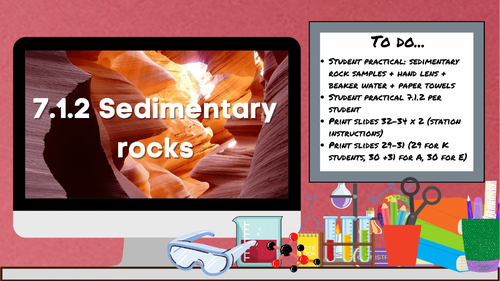 KS3 AQA Activate 7.1.2 Sedimentary rocks