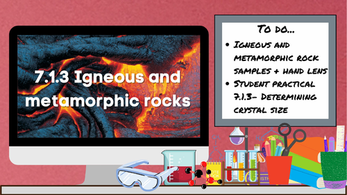 KS3 AQA Activate 7.1.3 Igneous and metamorphic rocks