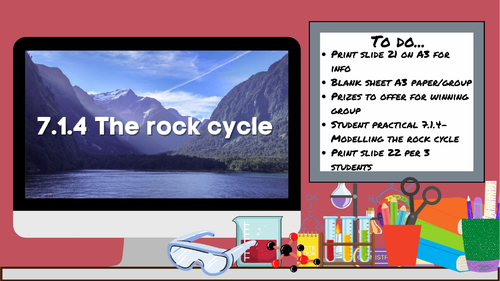 KS3 AQA Activate 7.1.4 The rock cycle