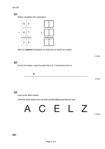 Year 3 Expected - Maths Reasoning Assessment Test Papers