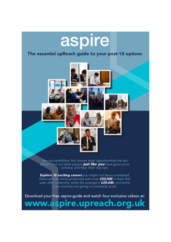 Career/University Info - aspire toolkit