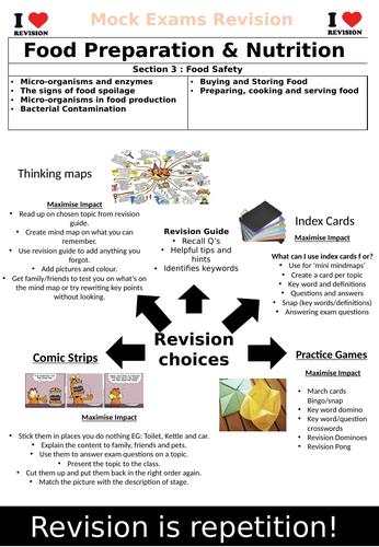 AQA GCSE Food Preparation & Nutrition Revison Book Section 3