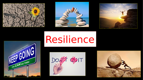 Resilience Assembly - Inspirational