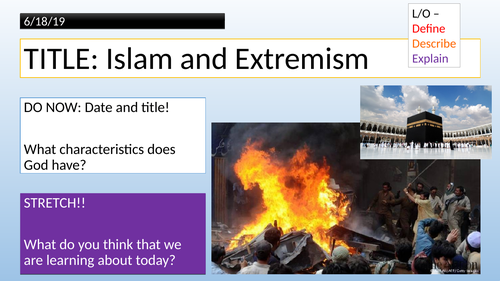 KS3 - Islam - Evil and Suffering