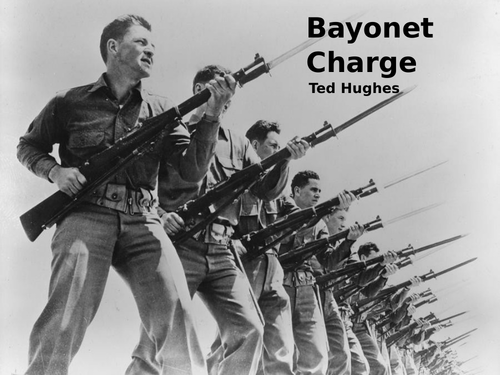 Bayonet Charge by Ted Hughes- Poetry Analysis (CCEA GCSE Conflict Poetry)