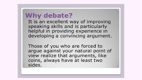 Love Island debate English speaking and listening
