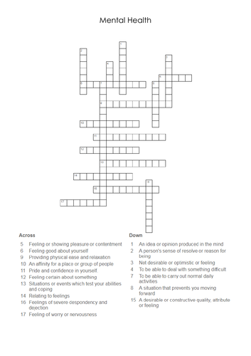 6x Wellbeing Drugs Alcohol Safeguarding Bullying revision worksheets crosswords
