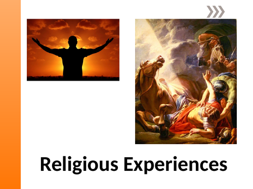 OCR A level Religious Studies 2019 - Philosophy of Religion - Religious Experiences